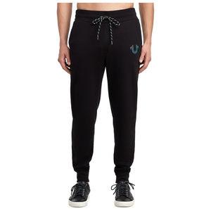 True Religion Men's Jogger Sweatpants in Black